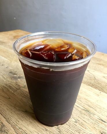 Cold Brew Coffee On Ice To Go - gettyimageskorea
