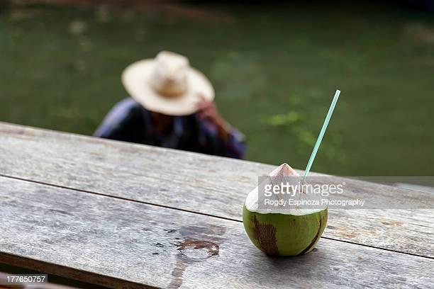 Cold coconut