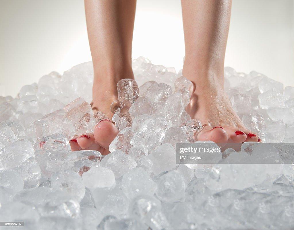 Cold Feet : Stock Photo