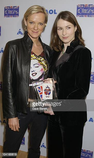 Cold Feet Stars Hermione Norris And Helen Baxendale, The 2001 British Comedy Awards, At Lwt Studio's, London