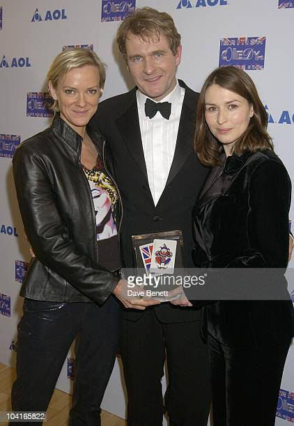 Cold Feet Stars Hermione Norris, And Helen Baxendale, The 2001 British Comedy Awards, At Lwt Studio's, London