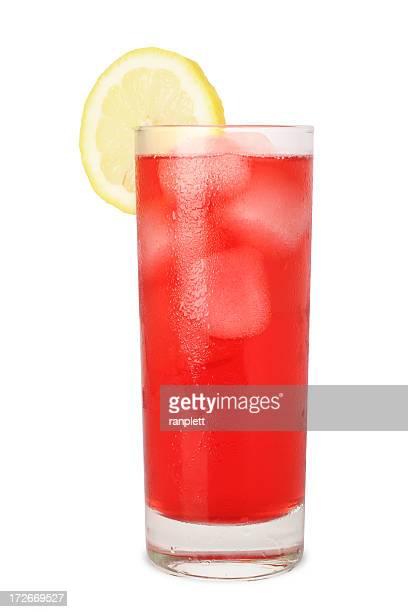 Frío con jugo de limón (Aislado en blanco