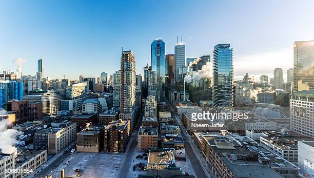 cold morning - toronto stock pictures, royalty-free photos & images