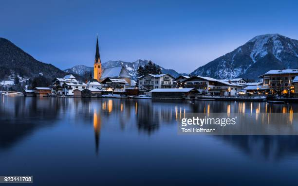 Cold Night in Rottach Egern at the Tegernseer