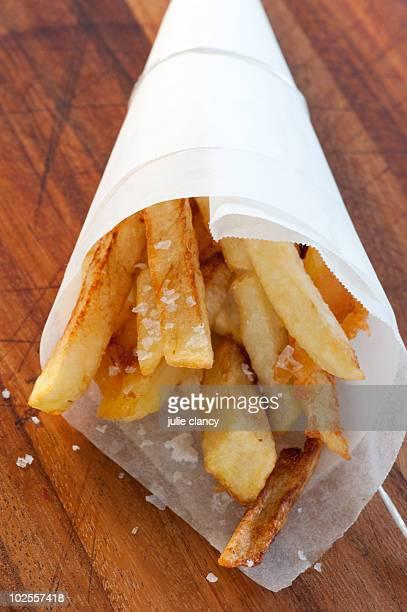 Cold oil potato chips