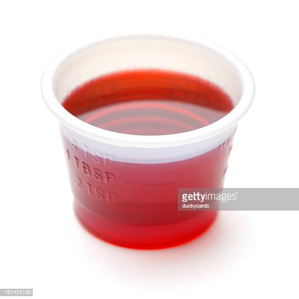 Cold or Cough Syrup Medicine - Adult Dose 4t