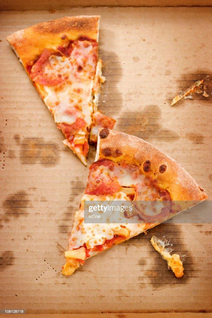 Cold Pizza : Stock Photo