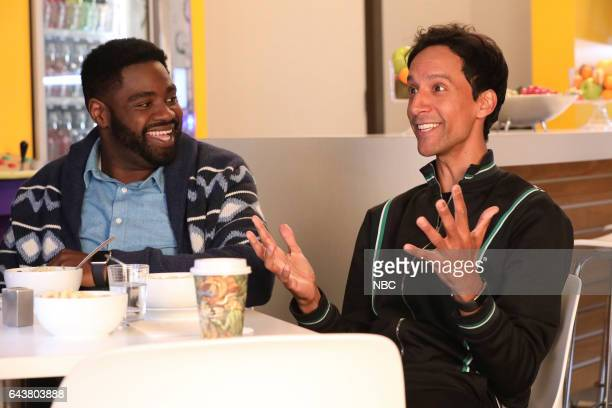 POWERLESS Cold Season Episode 105 Pictured Ron Funches as Ron Danny Pudi as Teddy
