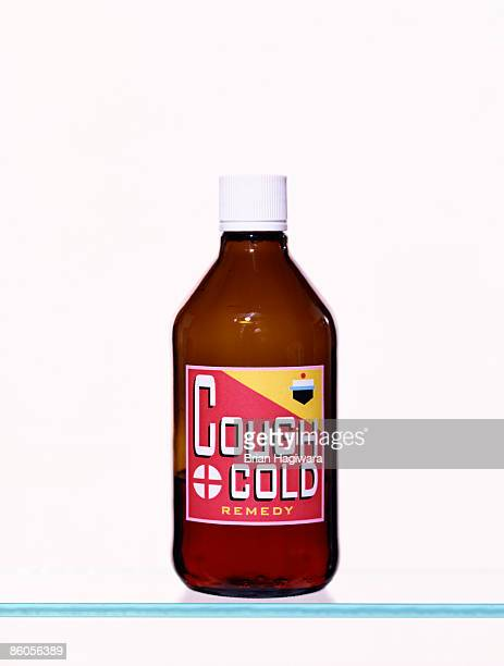 Cold Syrup bottle