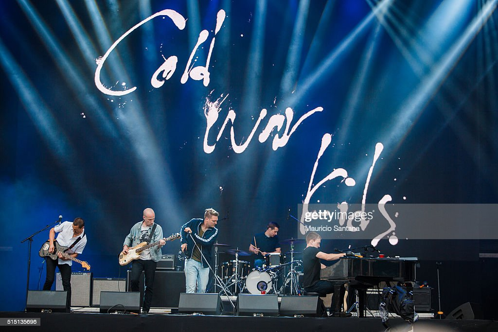 Cold War Kids performs live on stage at Autodromo de Interlagos on March 12, 2016 in Sao Paulo, Brazil.