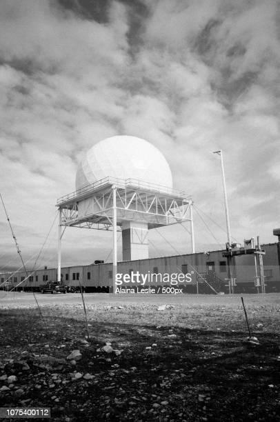 Cold War Radar above the Arctic Circle