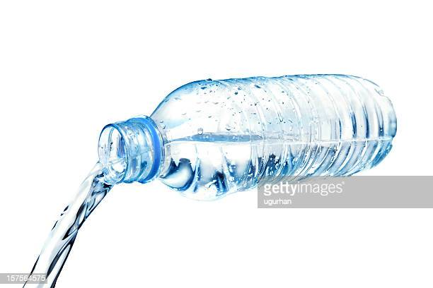 cold water - bottle water stock photos and pictures