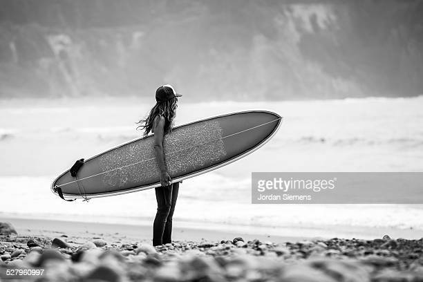 cold water surfing.