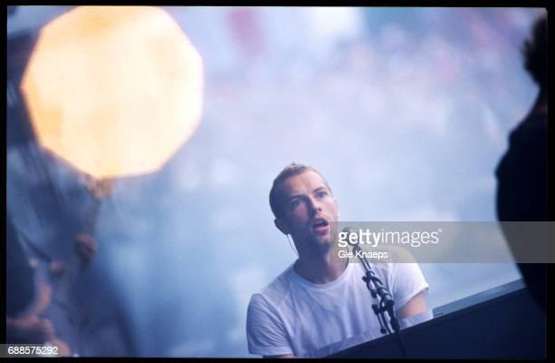 Coldplay Chris Martin Rock Werchter Festival Werchter Belgium