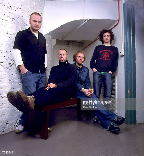 Coldplay on 11/30/01 in Chicago Il