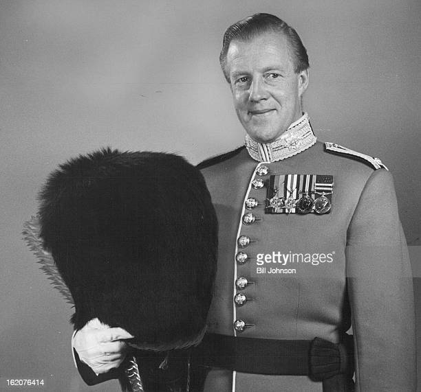 OCT 5 1960 Coldstream Commander Major John Riley who commands the band of Her Majesty's Coldstream Guards was a Denver visitor Wednesday in advance...