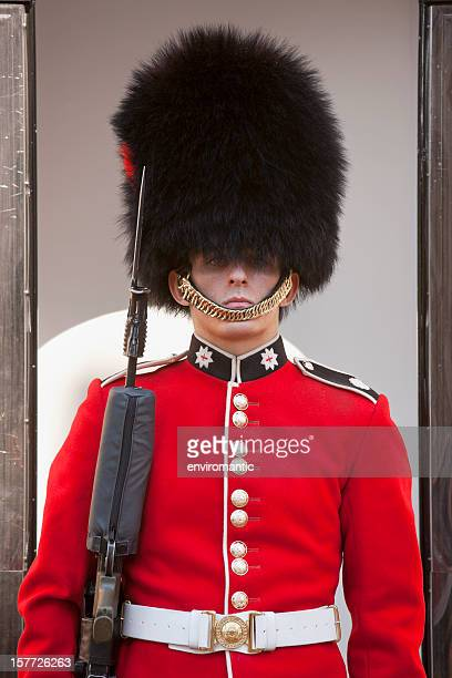 coldstream guard at the tower of london. - honor guard stock pictures, royalty-free photos & images