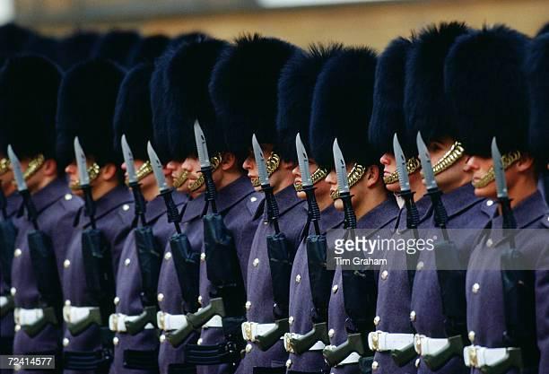 Coldstream Guards at Buckingham Palace London United Kingdom