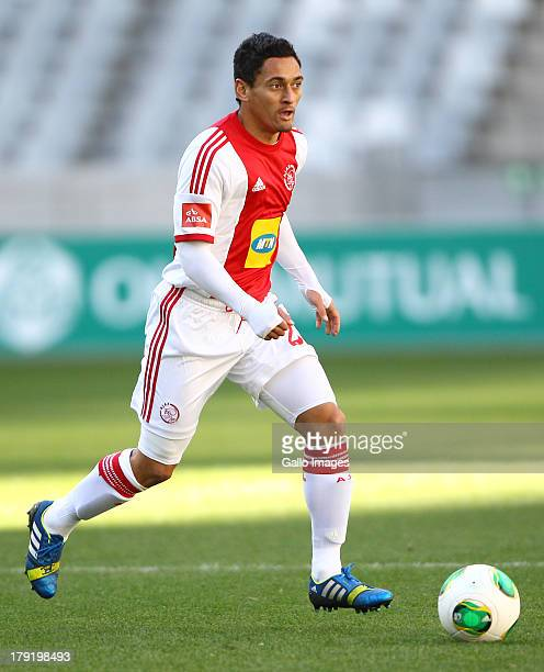 Cole Alexander from Ajax CT in action during the Absa Premiership match between Ajax Cape Town and AmaZulu from Cape Town Stadium on September 01,...