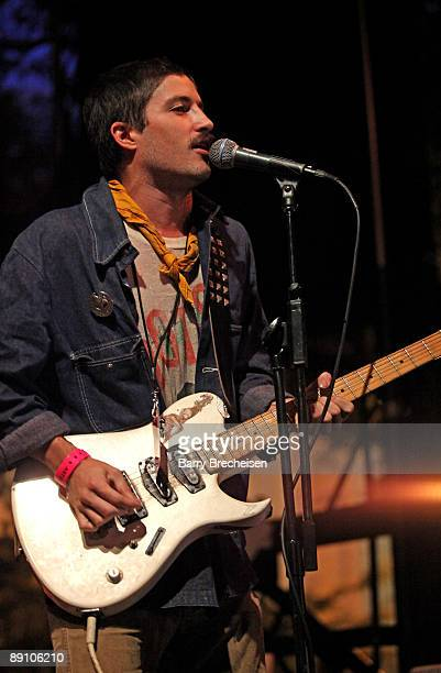 Cole Alexander of Black Lips performs during the 2009 Pitchfork Music Festival at Union Park on July 18 2009 in Chicago Illinois