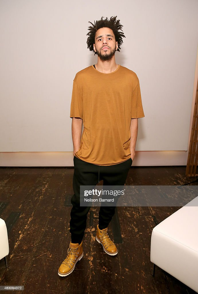 756ea9881f4 J. Cole attends BALLY s  Off the Grid  New York premiere on August 5 ...