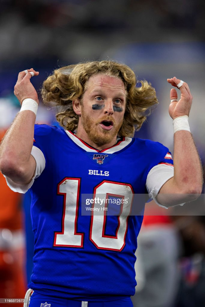 Cole Beasley Of The Buffalo Bills On The Sidelines During The Second News Photo Getty Images