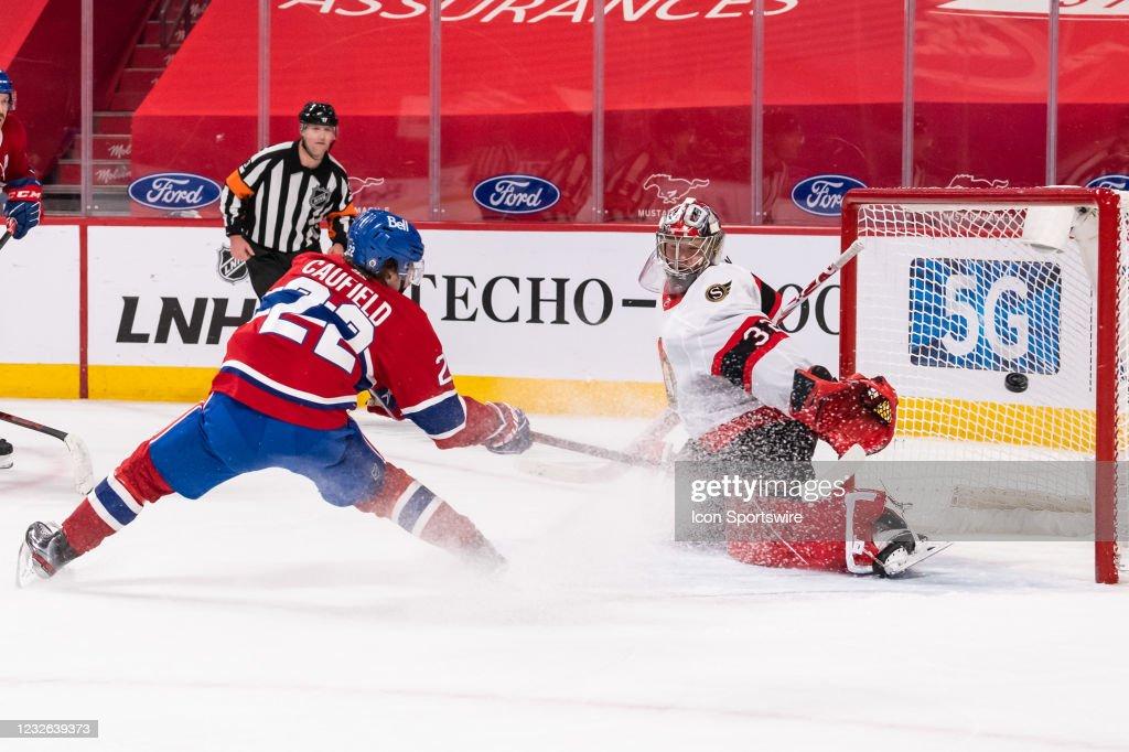 NHL: MAY 01 Senators at Canadiens : News Photo