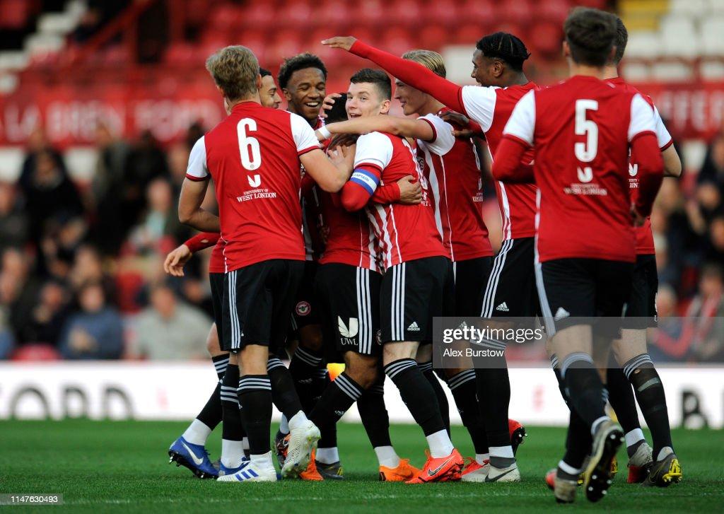 Brentford B v Manchester City U18's : News Photo