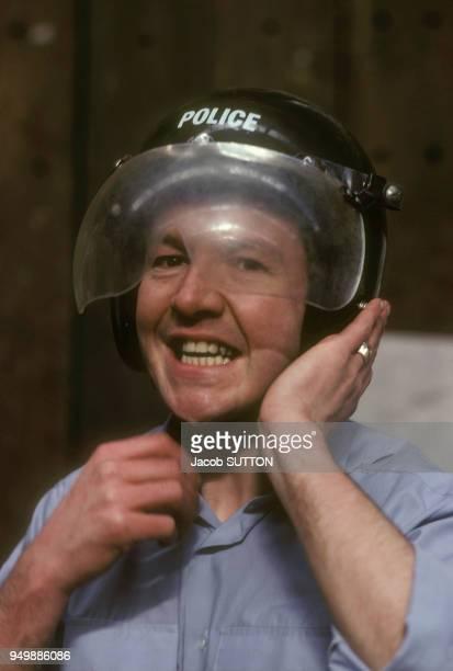 L'école de police de Manchester en avril 1982 RoyaumeUni