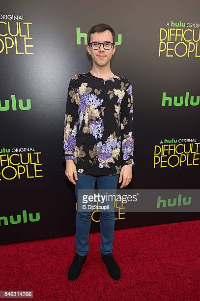 Cole Escola attends the 'Difficult People' New York premiere at The Metrograph on July 11 2016 in New York City