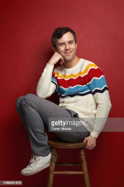 Cole Escola of TruTV's At Home with Amy Sedaris poses for a portrait during the 2019 Winter TCA at The Langham Huntington Pasadena on February 11...