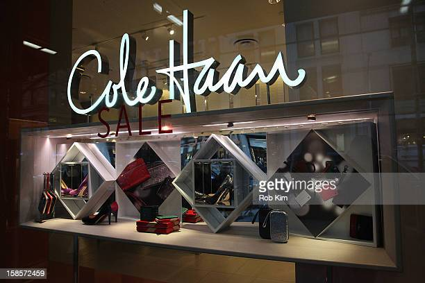 Cole Haan store holiday display on December 19 2012 in New York City