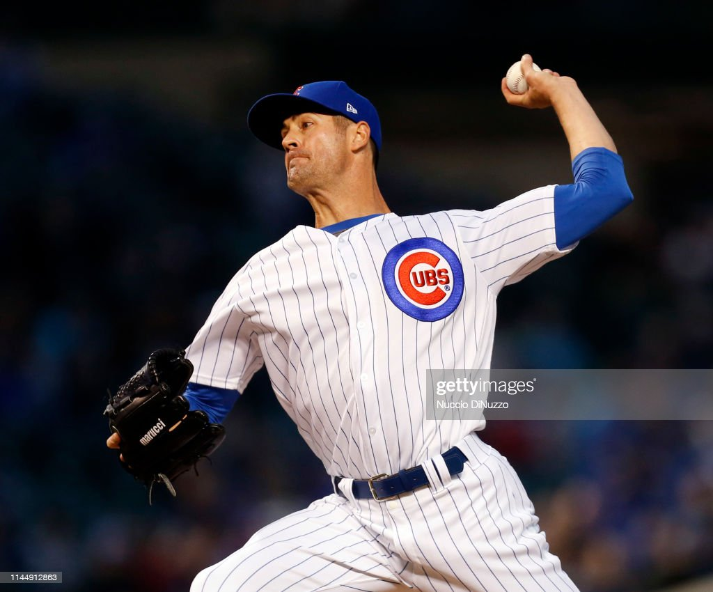 IL: Los Angeles Dodgers v Chicago Cubs