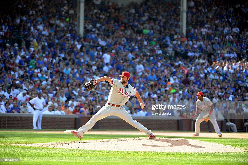 Philadelphia Phillies v Chicago Cubs : News Photo