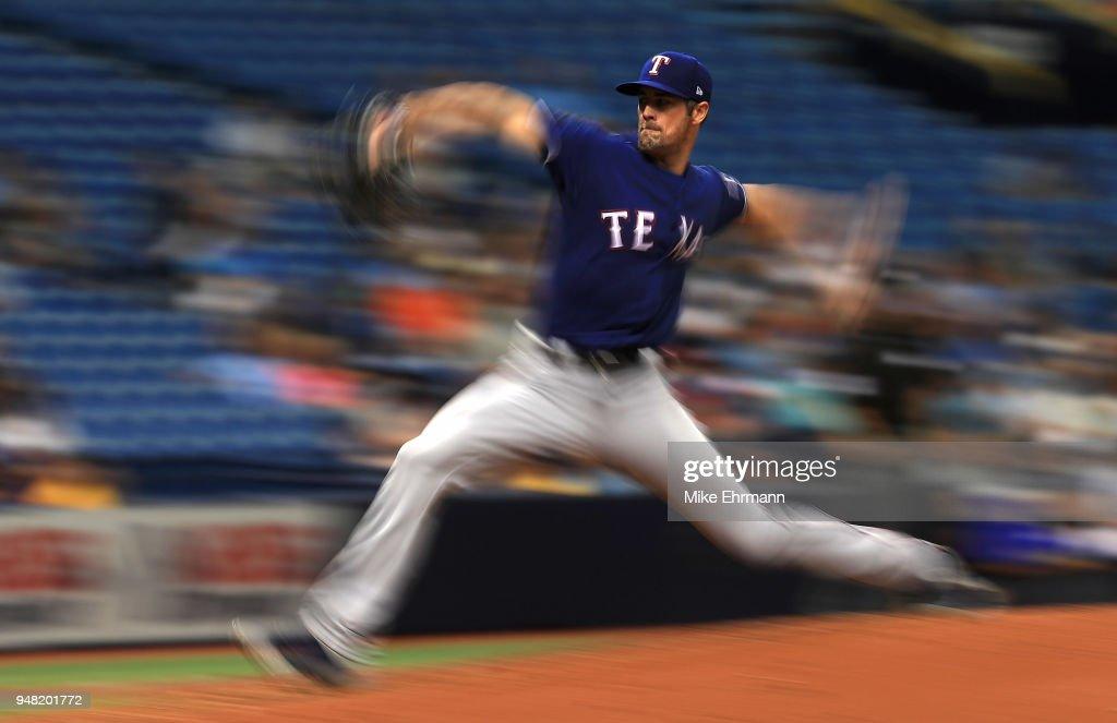 Texas Rangers v Tampa Bay Rays