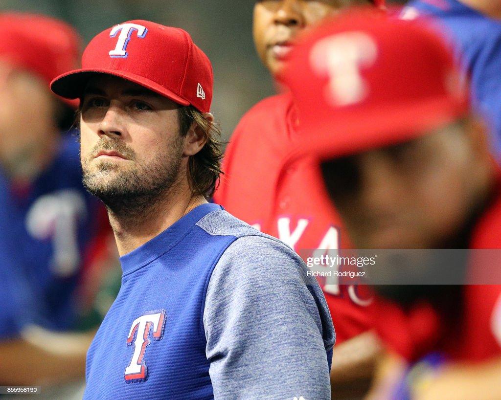Oakland Athletics v Texas Rangers : News Photo