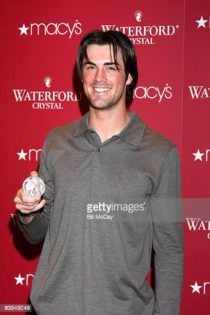 Cole Hamels, starting pitcher of the World Champion Philadelphia Phillies and MVP of the 2008 World World Series, visits Macy's on November 3, 2008...