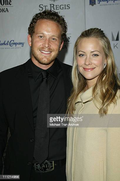 Cole Hauser and wife Cynthia Daniel during St Regis Resort Monarch Beach Hosts Chateau M December 14 2006 at St Regis Resort Monarch Beach in Dana...