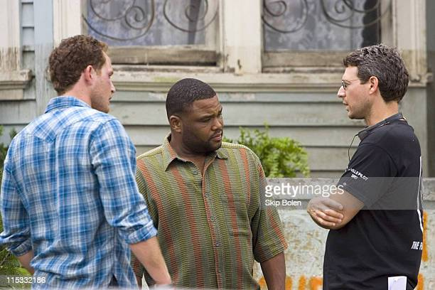 Cole Hauser Anthony Anderson and Jonathan Lisco creator/executive producer *EXCLUSIVE*