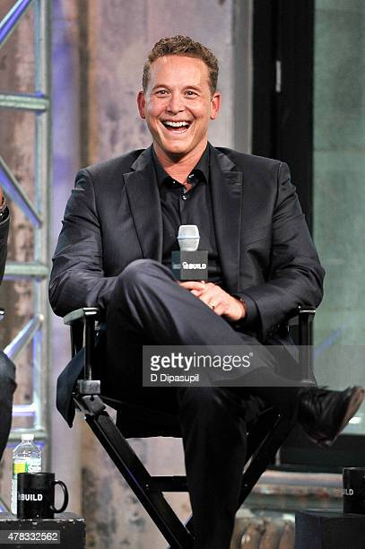 Cole Hauser attends AOL Build Presents Actors Derek Luke and Cole Hauser at AOL Studios In New York on June 24 2015 in New York City