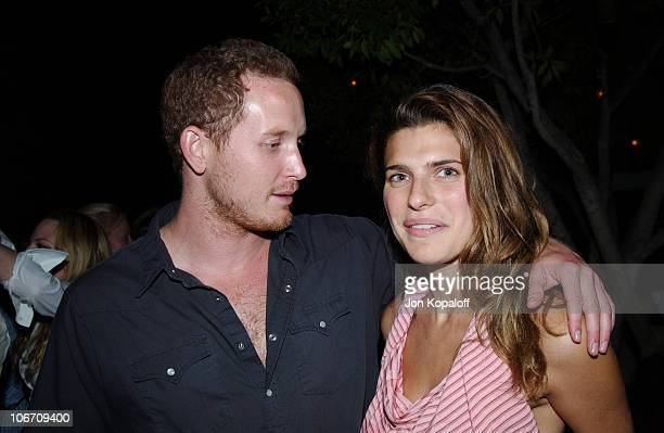 Cole Hauser Lake Bell during Ingenue Magazine Launch Party Inside at The Sky Bar At The Mondrian Hotel in West Hollywood California United States