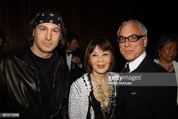 Cole Johannen Cathy Hardwick and Richard Turley attend The Pratt Institute's Pratt Legends 2005 Scholarship Benefit Gala Dinner at Gotham Hall on...