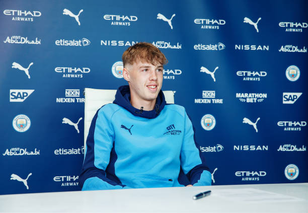 GBR: Cole Palmer Signs A Contract Extension At Manchester City