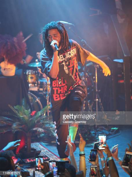 J Cole Performing With Ari Lennox On Her Shea Butter Baby Tour at Bowery Ballroom on June 4 2019 in New York City