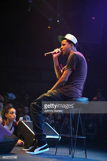 Cole performs at the Highline Ballroom on July 15 2014 in New York City