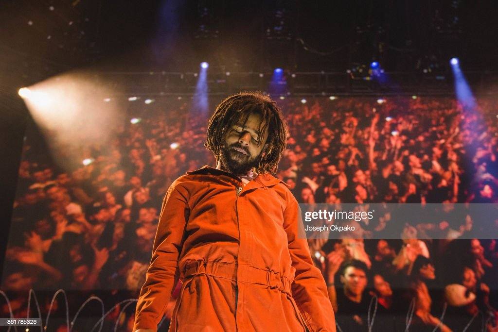 J. Cole Performs At The O2