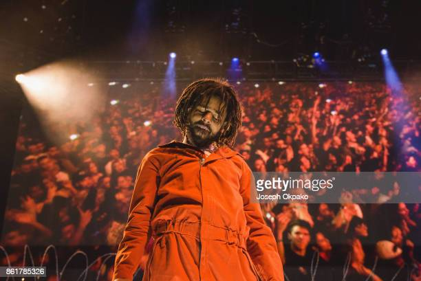 Cole performs at The O2 Arena on October 15 2017 in London England