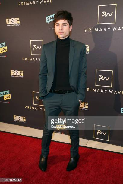 Cole Redding attends Primary Wave 13th Annual PreGRAMMY Bash at The London West Hollywood on February 9 2019 in West Hollywood California