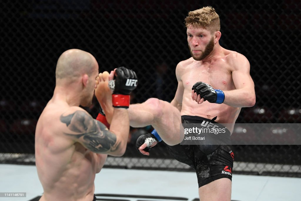 UFC Fight Night: Gagnon v Smith : News Photo
