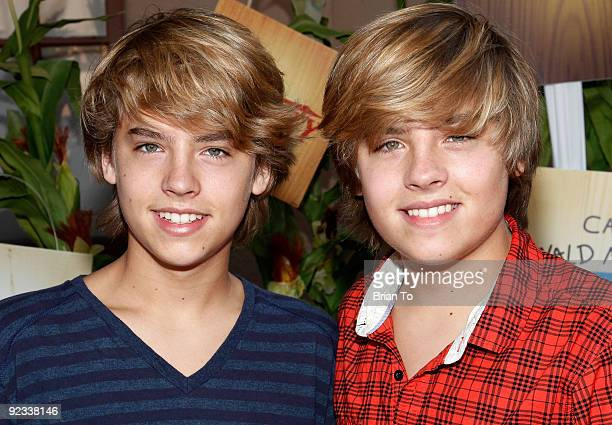 Cole Sprouse and Dylan Sprouse attend Camp Ronald McDonald For Good Times' 17th Annual Halloween Carnival at Universal Studios Backlot on October 25...